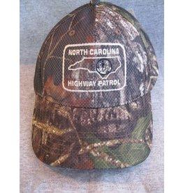 Mossy Oak Camo Hat w/ Shoulder Patch