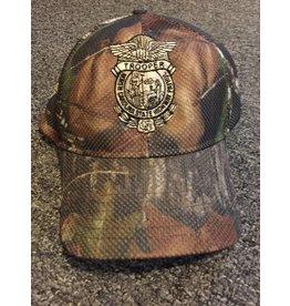 Mossy Oak Camo Hat w/ Badge