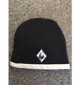Hat Badge Lined Beanie (performance)