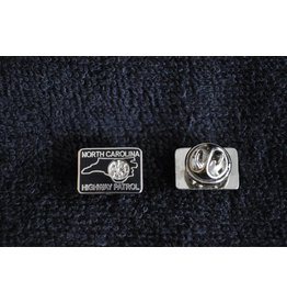 Patch Lapel Pin - Silver