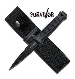 """Survivor Knife Black 3.25"""" Blade"""