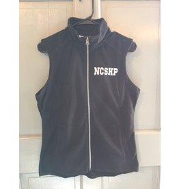 Ladies Micro Fleece Vest Black