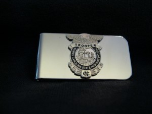 Badge Money Clip