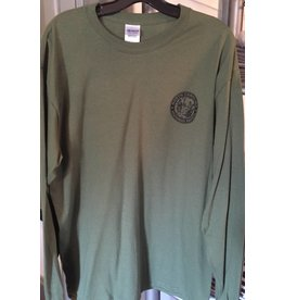 Long Sleeve Shirt OD Green with Seal