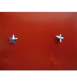 Collar Stars - Silver