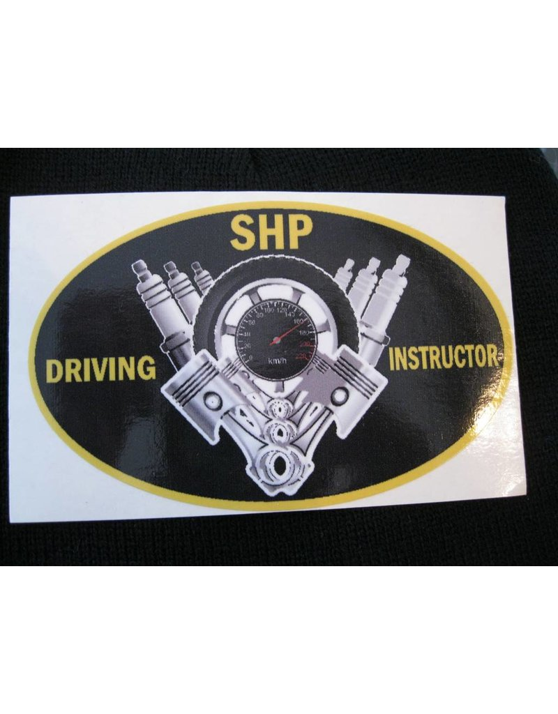 Driving Instructor Decal