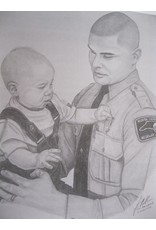 Daddy's Badge - Print
