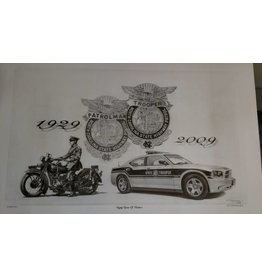G Hammonds Motorcycle and Charger - Print