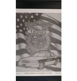 North Carolina State Highway Patrol - Print