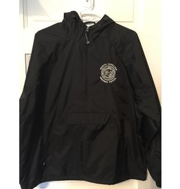 Half Zip Windbreaker - White Seal