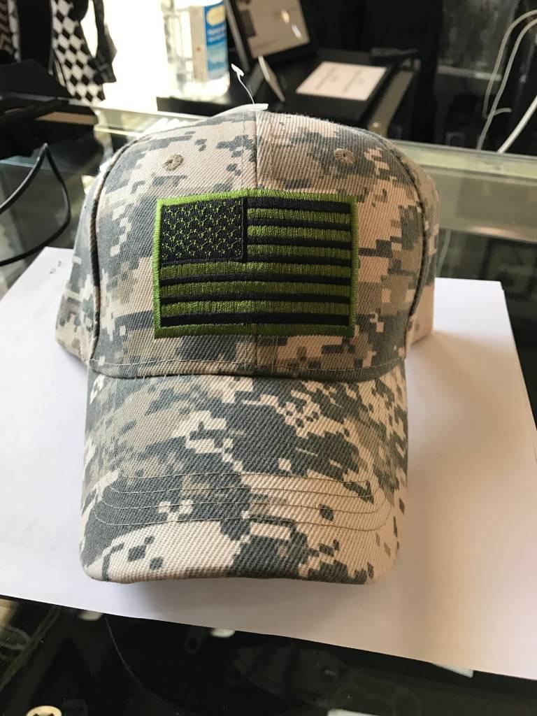 Camo Flag Hat