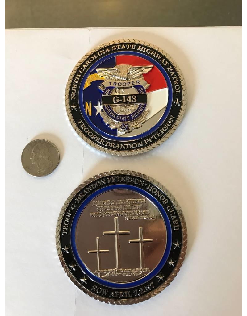Brandon Peterson Memorial Coin