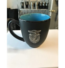 Pewter Badge Coffee Mug