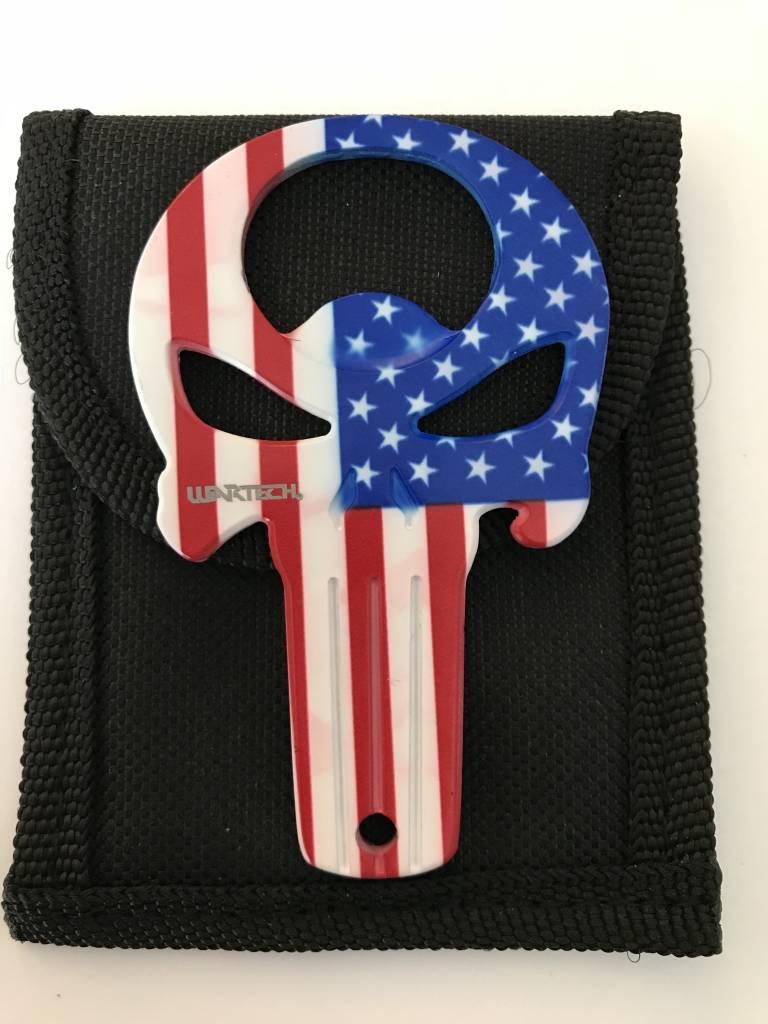 American Flag Punisher Bottle Opener