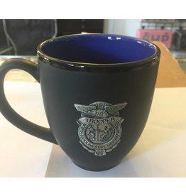 Pewter Badge Coffee Mug (Multi Color Options)