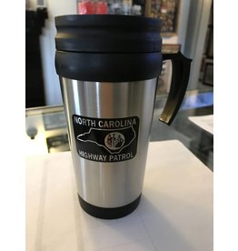 Stainless Steel Black Patch Mug