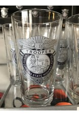 Water Glass w/ Color Badge