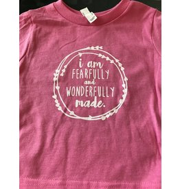 Toddler Wonderfully Made Tee