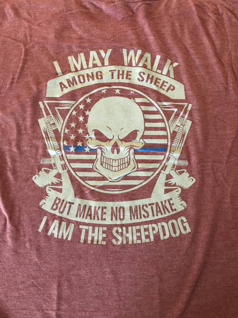 Sheep Dog Tri Blend Tee
