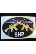 Firearms Decal