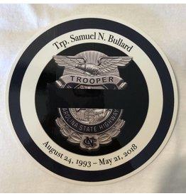 Bullard Memorial Decal