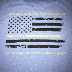 Peacemaker T-Shirt Royal Blue