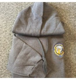 Hoodie with Seal Grey X Large