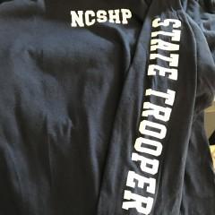 Long Sleeve NC's Finest Flag T-Shirt Navy XXX-Large