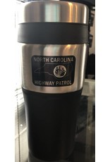 Travel Tumbler with Black Patch