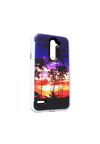 Hard Case with Design For ZTE ZMax Pro - Palms