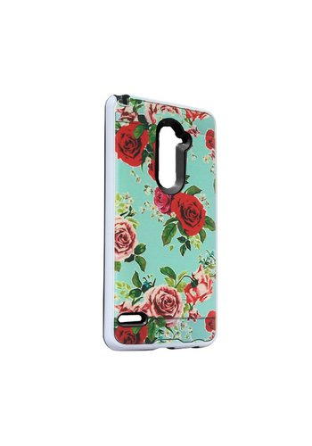 Hard Case with Design For ZTE ZMax Pro - Roses