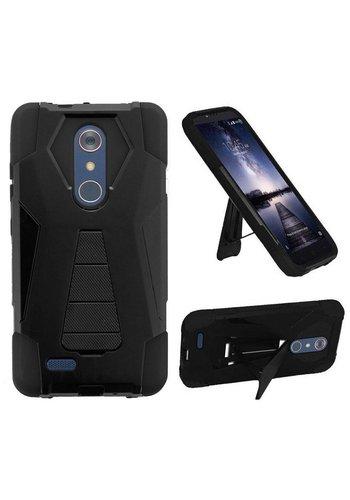 Hybrid T Kickstand Case For ZTE ZMAX Pro
