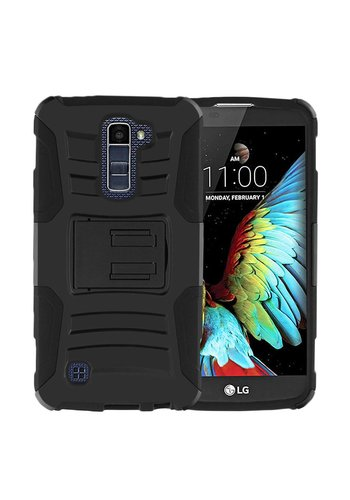 Armor Kickstand Holster Clip Case for LG K10