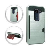 Armor Brushed Case With Card Slot For LG K10