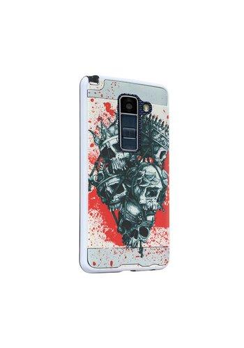 Hard Case with Design For LG K10 - Skulls