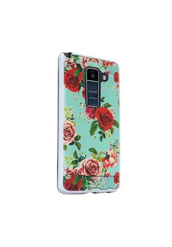 Hard Case with Design For LG K10 - Roses