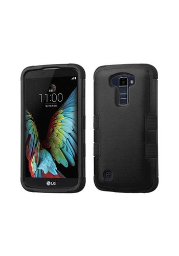 MYBAT TUFF Hybrid Protector Case [Military-Grade Certified] for LG K10