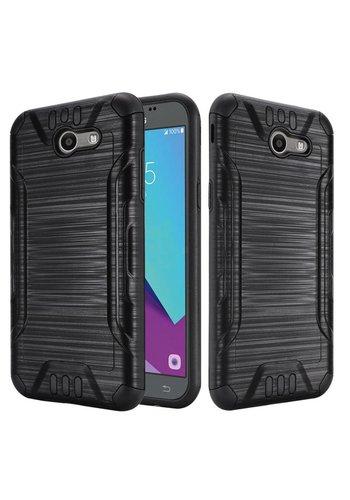 Slim Armor Metallic Design Case For Galaxy J3 Emerge / Prime (2017)