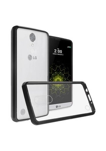 Ultra Slim Clear Hard Fused PC+TPU Case for LG V5 / K20