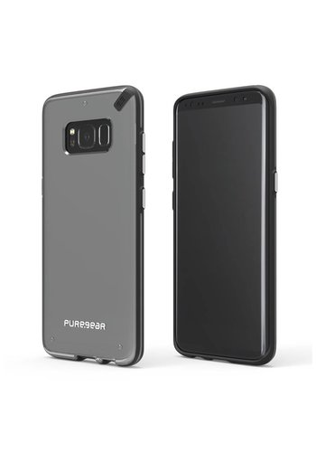 PUREGEAR Slim Shell Clear Case for Galaxy S8 Plus