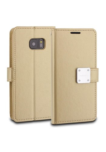 ModeBlu PU Leather Wallet Mode Diary Case for Galaxy S7 Edge