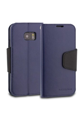 ModeBlu PU Leather Wallet Classic Diary Case for Galaxy S7 Edge