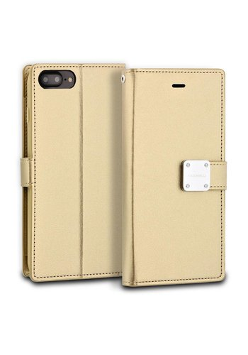 ModeBlu PU Leather Wallet Mode Diary Case for iPhone 7/8 Plus