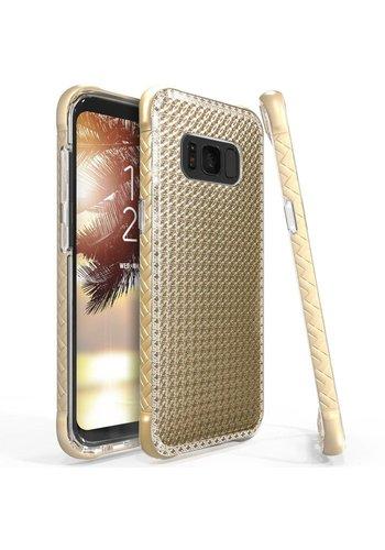 Scottii Slim Luxurii Gem Dual Layer Metallic Pattern Case For Galaxy S8