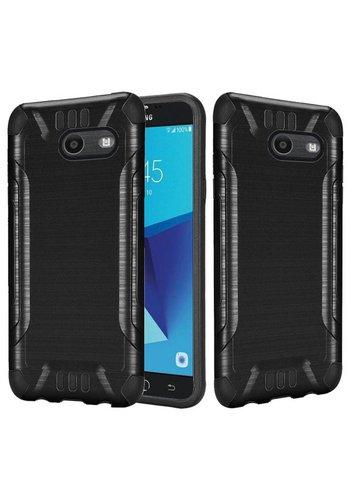 Slim Armor Metallic Design Case For Galaxy J7 Perx 2017