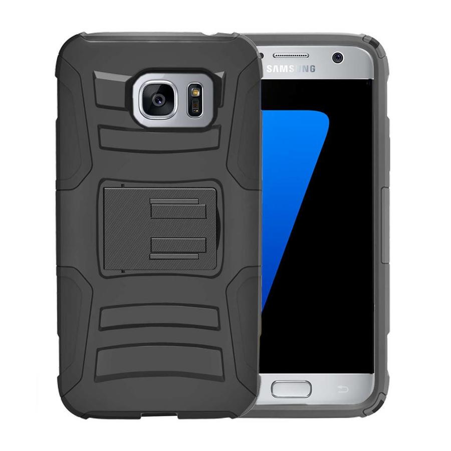 Armor Kickstand Holster Clip Case for Galaxy S7