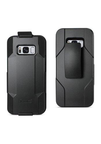 Reiko Hybrid Heavy Duty Holster Clip Case for Galaxy S8