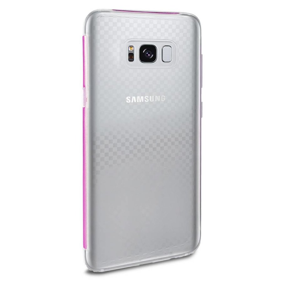 Fashion K Ultra Thin PC TPU Gel Bumper Case For Galaxy S8