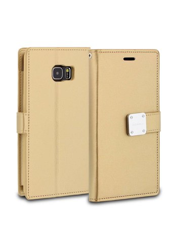ModeBlu PU Leather Wallet Mode Diary Case for Galaxy S6 Edge Plus