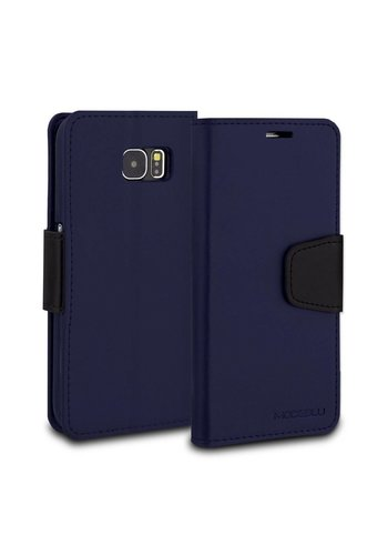 ModeBlu PU Leather Wallet Classic Diary Case for Galaxy S6 Edge